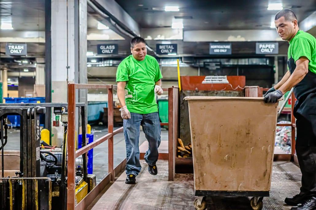Las Vegas Livestock food recycling Venetian